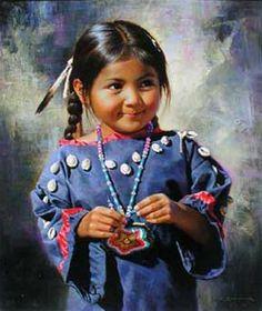 Amerindiens en peinture