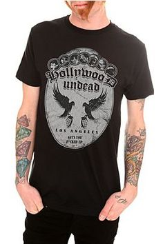 Someone buy me a Hollywood Undead shirt please.