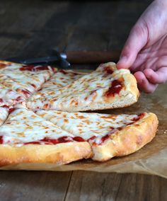Yeast Free Gluten Free Pizza—with gluten free bread flour