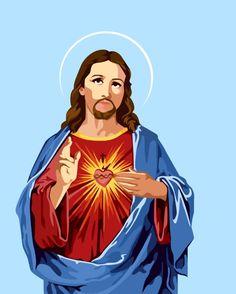 JESUS by MESSYMISSY76