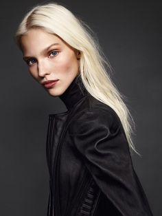timeless-couture:  Sasha Luss photographed by Mariano Vivanco for Vogue Russia December 2013