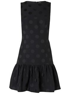 My style: 1920s inspired - Boutique by Jaeger Cindy jacquard spot dress #fashion