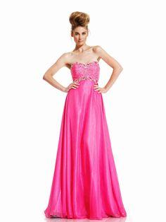 All you need is pink Light Up Dresses, A Line Prom Dresses, Strapless Dress Formal, Nice Dresses, Formal Dresses, Wedding Dresses, Affordable Evening Gowns, Evening Dresses Online, A Line Evening Dress