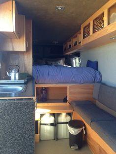 Sprinter Van Buildout: Van Living 4   Steph Davis - High Places