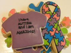 desserts for autism awareness - Google Search