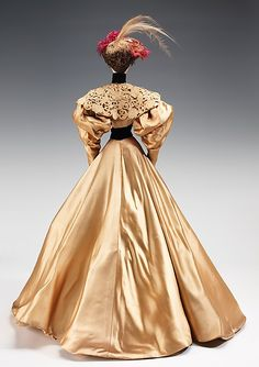 """The Metropolitan Museum of Art - """"1896 Doll""""   I'd love to see these dolls restored and displayed some day."""