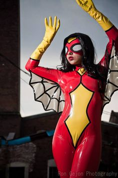 Latex Cosplay SpiderWoman by vengeancedesigns on Etsy & 80 best MARVEL Cosplay: Spider-Woman (Jessica Drew) images on ...