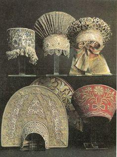 Different Russian headdresses