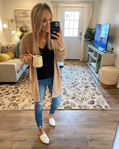 Summer Outfits For Moms, Casual Outfits For Moms, Fall Fashion Outfits, Casual Fall Outfits, Fall Winter Outfits, Cute Fashion, Autumn Fashion, Cute Outfits, Womens Fashion