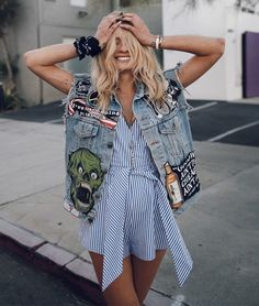The Best Summer Denim Street Style | StyleCaster