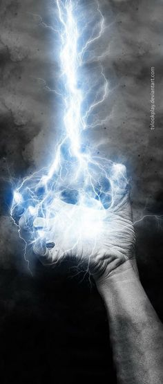 When the storm came everyone hid. When the thunder struck they all scurried under their desks. With each crack of the lightnings whip they held each other in the dark. Except for him. While they cowered, he walked outside, letting the power strike his core.