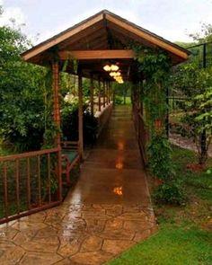 Pergola Ideas House - Systeme Pergola Bioclimatique - - - - Retractable Pergola With Lights White Pergola, Deck With Pergola, Pergola Shade, Patio Roof, Pergola Patio, Pergola Plans, Backyard Landscaping, Gazebo, Pergola Ideas