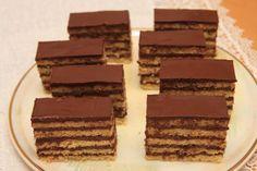 Dobošky sú super, všetkým nám chutia. Cookie Desserts, Cake Cookies, Recipies, Food And Drink, Candy, Chocolate, Baking, Sweet, Sheet Metal