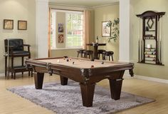 Legacy Ryan Pool Table Modern and Contemporary Look This Billiard Table is perfect for your Game Room or Man Cave  Available at Palason in Montreal, Quebec, Canada and Ottawa, Ontario, Quebec