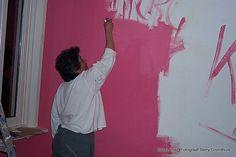 2001 Samen Lenie huis schilderen gezellig.Together Lenie house painting cozy.