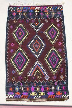 Beautiful Balikesir Dursunbey Turkish Kelim Kilim Rug | eBay
