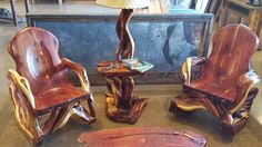Juniper Furniture by Randy Hillner. Made in Montana. Featured at Homestead89 Furniture Art and Design Gallery.