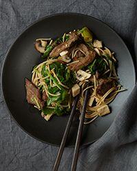 Chicken Sukiyaki Recipe on Food & Wine
