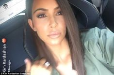 Kim Kardashian shows off considerably shorter hair with husband Kanye West | Daily Mail Online