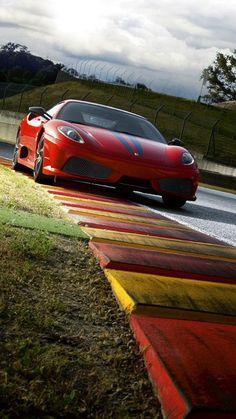 Download Red Ferrari Speed Iphone