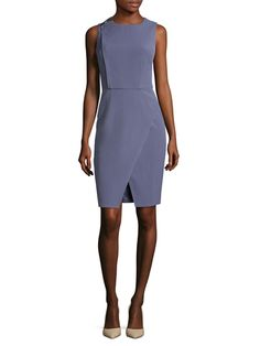 Shoulder Bar Asymmetrical Dress