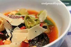Farmer's Market Tortellini Soup
