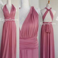 Wedding Dress Bridesmaids Dress Infinity Dress Wrap Dress Convertible Cocktail Party Dressing Maxi Elegant Prom Dressing Plus Size Dresses