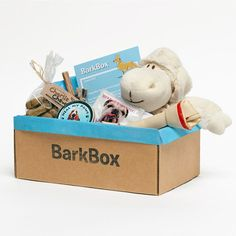 Forget that beer of the month club, a BarkBox subscription is where it's at. A fun gateway to surprising and delighting your dog, this PUPular program delivers a box filled with an array of high-quality products handpicked by the BarkBox staff—from all-natural treats, to toys, to hygiene necessities.