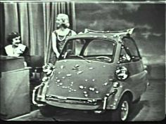 "BMW Isetta 300 60MPG! ""The Price is Right"" in 1957 (NBC)"