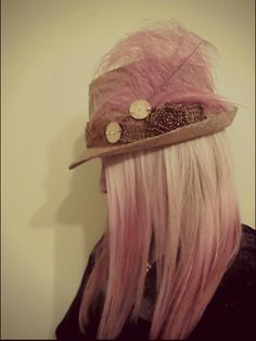 Pastel hair, blonde and pink hair, pink ombre