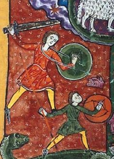 Manuscript Morgan M.429 Huelgas Apocalypse Folio 128r Dating 1220 From Toledo, Spain Holding Institution Morgan Library