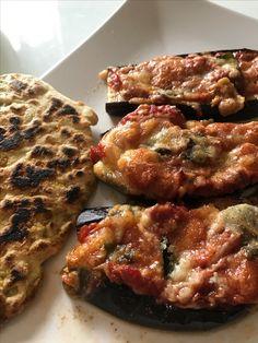Auberginen-Pizza