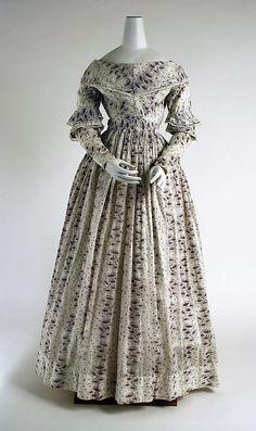 Morning Dress    1837-1840    The Metropolitan Museum of Art