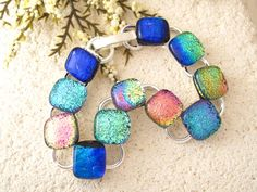 Link Dichroic Bracelet Dichroic Bracelet Dichroic by ccvalenzo