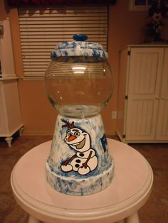 Frozen Themed Candy Jar                                                                                                                                                                                 More