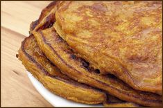 Pumpkin Pancakes (or buttermilk if you leave the spices out) I made these and they're great!