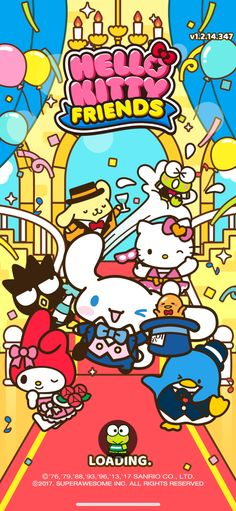 Sanrio Game Sanrio Wallpaper, Sanrio Danshi, Hello Sanrio, Hello Kitty My Melody, Hello Kitty Pictures, Room Posters, Little Twin Stars, Cute Icons, Cute Characters