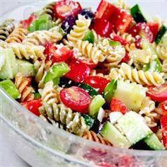 Greek Penne Pasta Salad @ allrecipes.co.uk