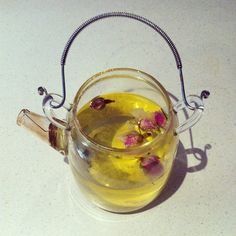 damask rose tea from choi time