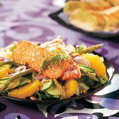 Marinoitu lohisalaatti   K-ruoka #sitrushedelmät