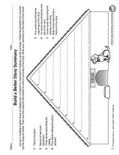 Shiloh Summary ~ Free Printable Worksheet