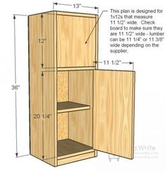 Simple Play Kitchen Narrow Fridge Build your own play kitchen with our free plans! This smaller, narrower fridge features a freezer and fridge compartment. Works with our Simple Play Kitchen Sink and Stove Plans. Diy Play Kitchen, Diy Outdoor Kitchen, Toy Kitchen, Play Kitchens, Diy Patio, Diy Furniture Plans, Kids Furniture, Farmhouse Furniture, Furniture Design