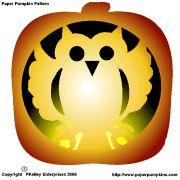 Pumpkin carving stencil
