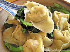 Chinese dumplings! One of my guiltiest pleasures.