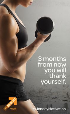 months from now, you will thank yourself. Inspiration For The Day, Fitness Inspiration, Healthy Energy Drinks, Pre Workout Supplement, Weight Loss Challenge, How To Increase Energy, Beast Mode, Feeling Great, Monday Motivation