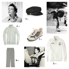 Katharine Hepburn, Audrey Hepburn, Barry Manilow, Classic Style, Style Me, Edgy Style, Style Icons Inspiration, Ralph Lauren Rugby Shirt, Classy Chic