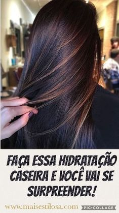 Use Essa Máscara Uma Vez por Semana Para Deixar seu Cabelo mais Forte e Mais Grosso! #cabelo #cabelomaisforte #cabelocomvida #restaurarcabelo #reconstruçaodocabelo #reconstruçaocapilar #receitaparaocabelo #cabeloreceitacaseira #restaurarocabelo #comorestaurarocabelo #restaurarocabelocomo #dicas #truques #receitas #caseiro #beleza #shampoocaseiro #shampooparaengrossacabelo #shampooparacabelofino #dicasdesaude #saudedica #beleza #mulher #natural #caseiro #receita #receitacaseira Plum Hair, Nail Designer, Beauty Treats, Les Rides, Hair Color Highlights, Shiny Hair, How To Make Hair, Brunette Hair, Ombre Hair