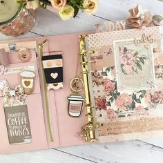 Prima Planner, Planner Tips, Happy Planner, Kawaii Planner, Digital Bullet Journal, Bullet Journal Ideas Pages, Planner Dashboard, Cute Stationary, Decorate Notebook