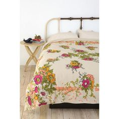 Vintage Scarf Reversible Duvet Cover - Assorted - Full/Queen... - Polyvore