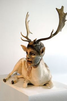 Kate Clark - there is something about her artwork that amazes me.. really beautiful and weird at the same time